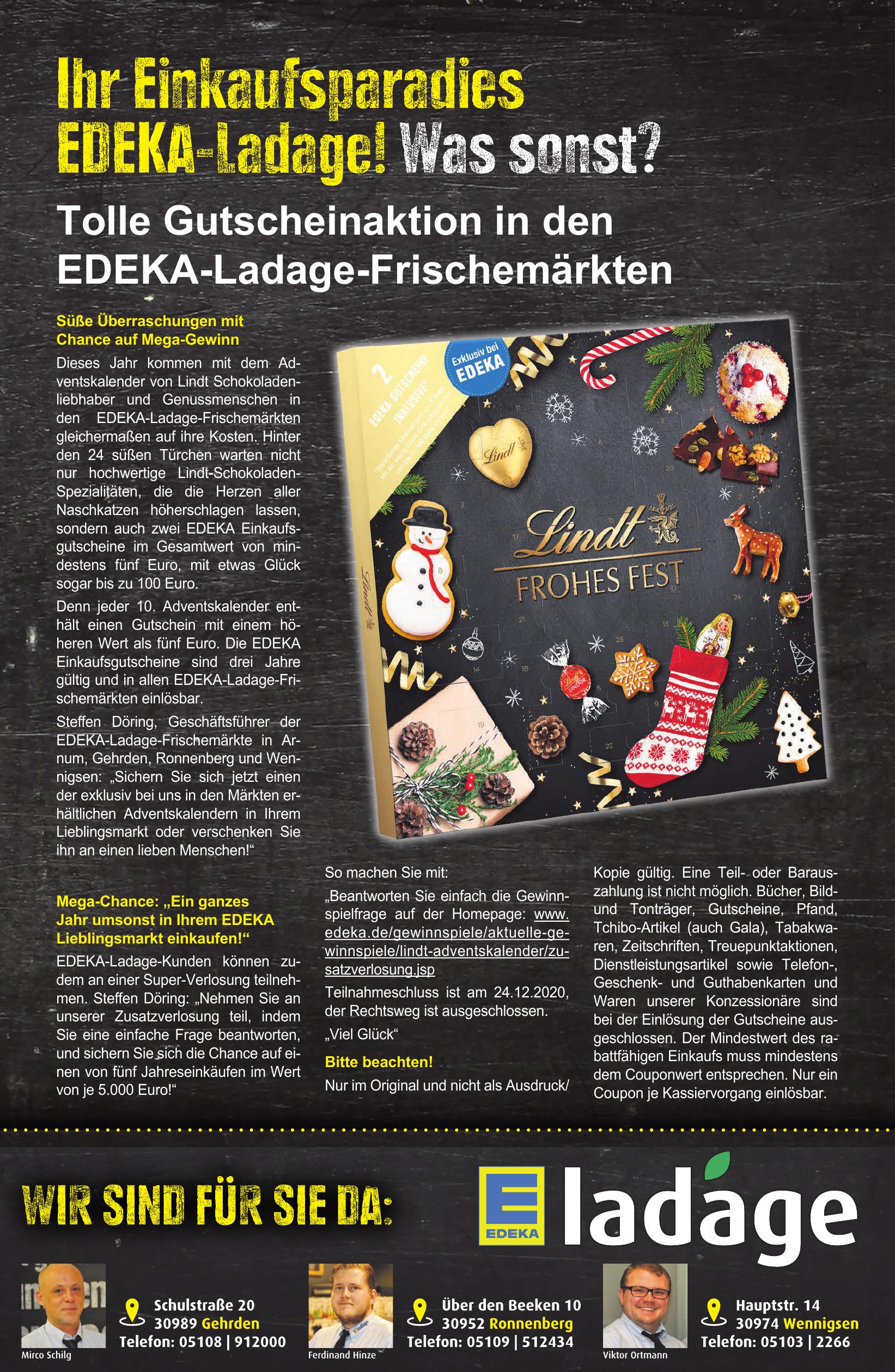 Edeka Ladage Gehrden