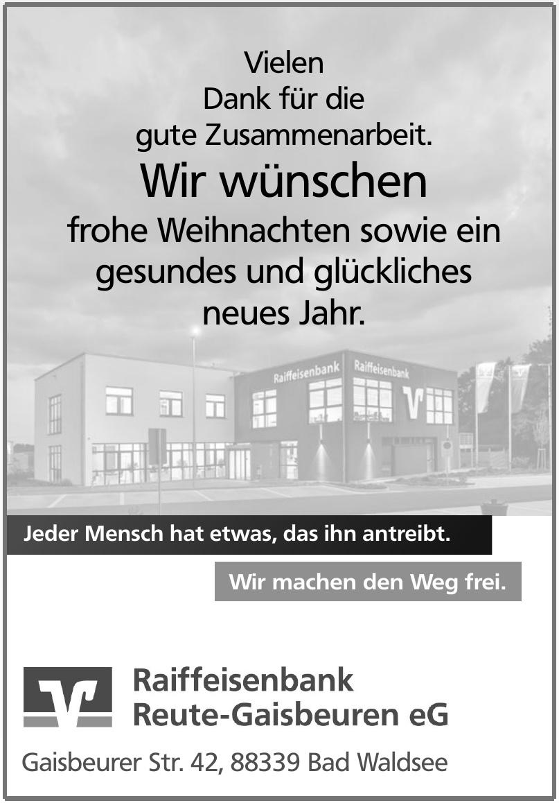 Raiffeisenbank Reute-Gaisbeuren eG