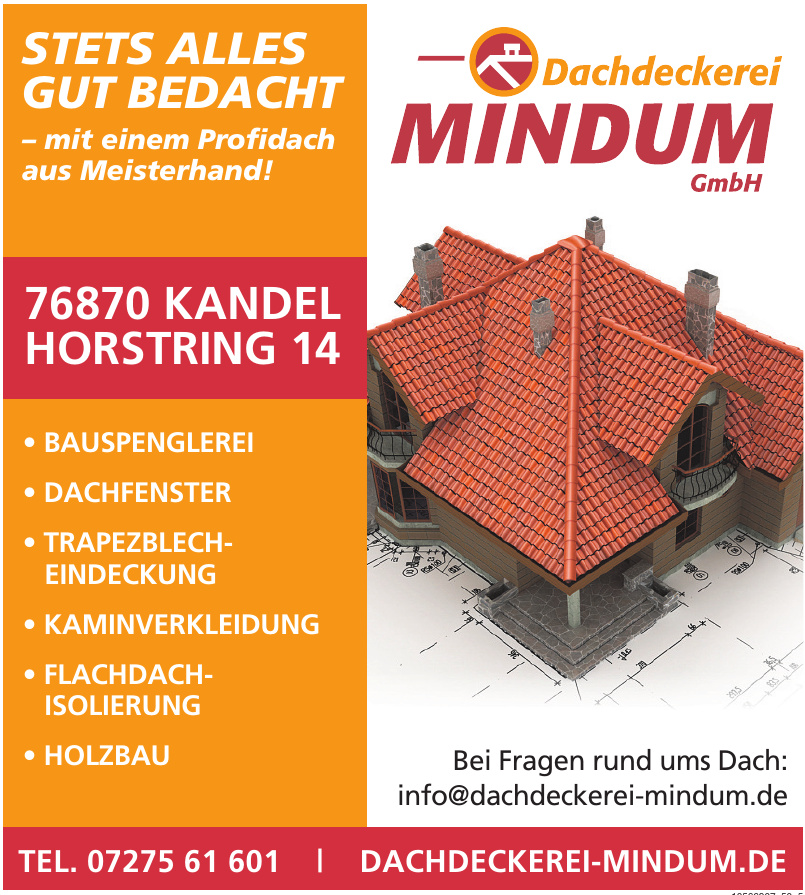 Dachdeckerei Mindum GmbH