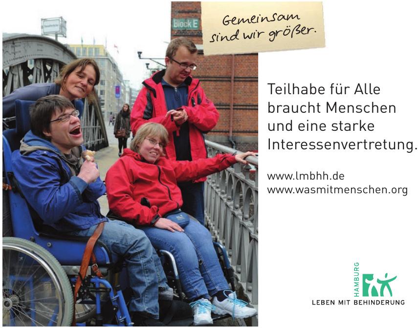 Leben mit Behinderung Hamburg