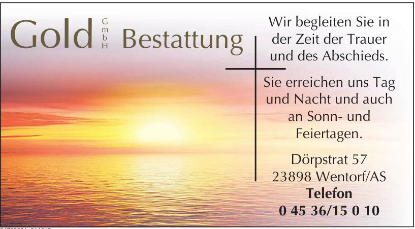 Gold GmbH Bestattung