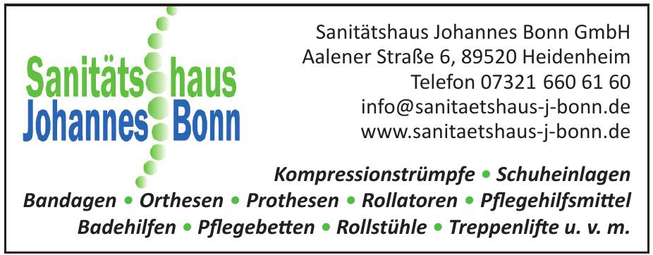 Sanitätshaus Johannes Bonn GmbH