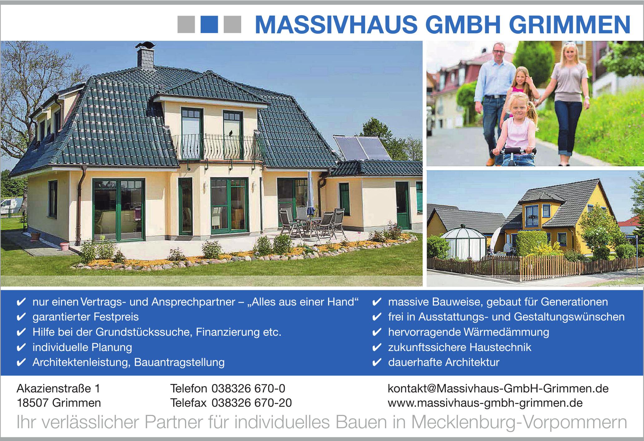 Massivhaus GmbH Grimmen