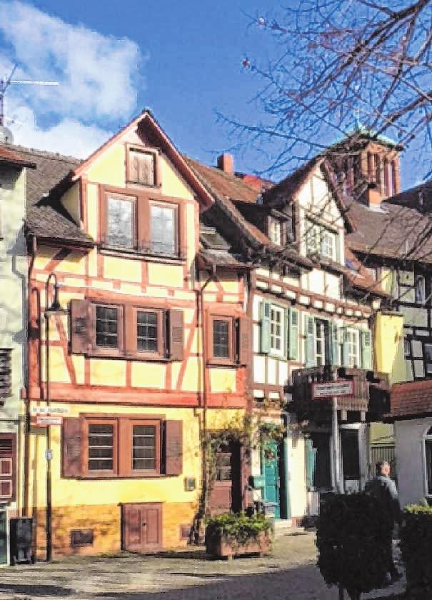 Das Haus an der Stadtmühle vor der Sanierung.   Bild: Bettina Hennemann