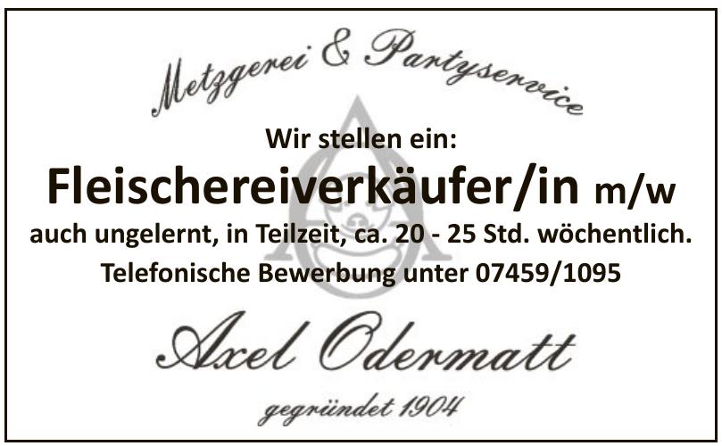 Metzgerei & Partyservice Axel Odermatt