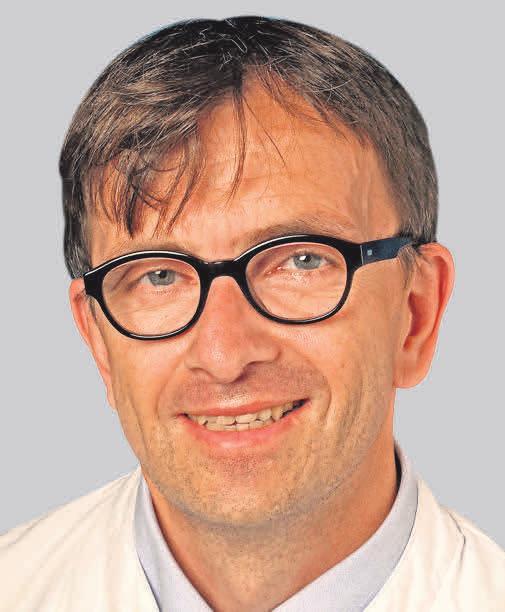 PD Dr. med. Karl-Ludwig Bruchhage, Leiter der Sektion für Hals-, Nasenund Ohrenheilkunde im UKSH Lübeck.