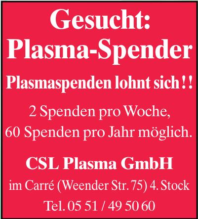CSL Plasma GmbH