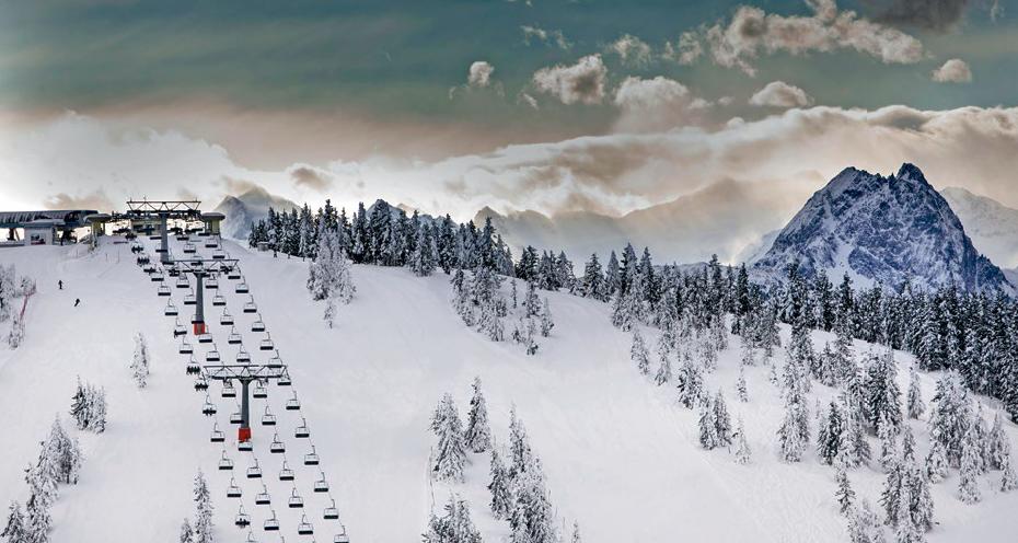 Viel Kapazität: Sessellift am Eiberg in der Skiwelt Wilder Kaiser. Foto: picture alliance