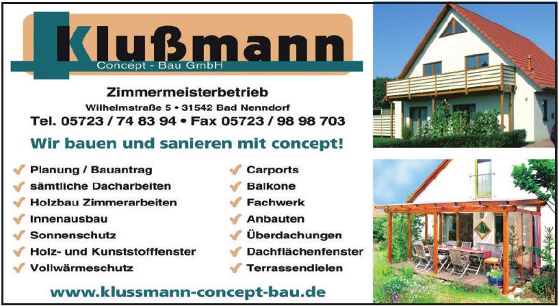 Klußmann Concept Bau