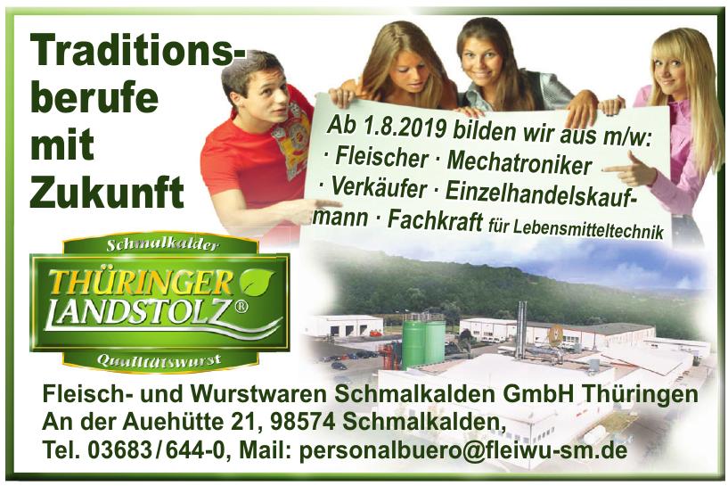 Fleisch- und Wurstwaren Schmalkalden GmbH Thüringen