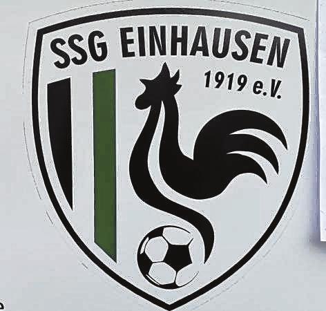 Das neue Wappen der aus der Fusion entstandenen SSG Einhausen. BILD: KELLER