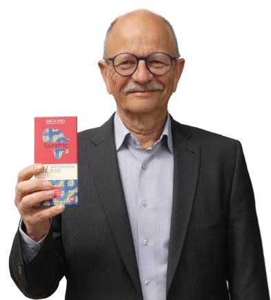 Rüdiger Wockenfuß setzt sich bereits seit 20 Jahren dafür ein, das Thema Fairtrade nach Gifhorn zu holen. Foto: Gesa Walkhoff
