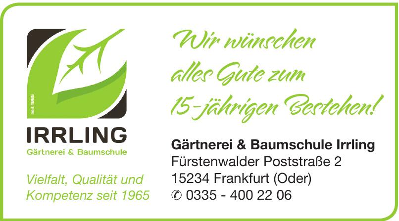 Gärtnerei & Baumschule Irrling