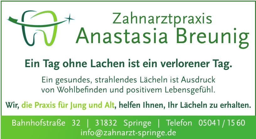 Zahnarztpraxis Anastasia Breunig