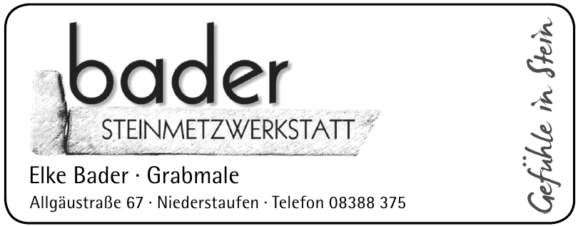 Elke Bader - Grabmale