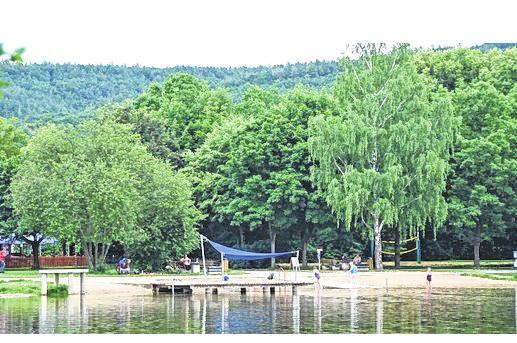 Der Badesee ist ein Aushängeschild für Sulzfeld.