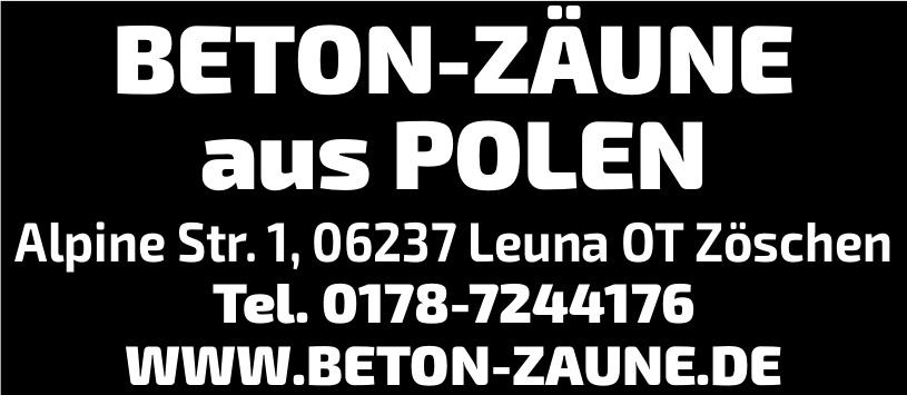Zeton Zäune