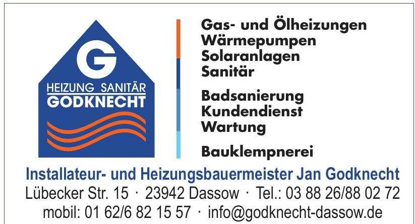 Installateur- und Heizungsbauermeister Jan Godknecht
