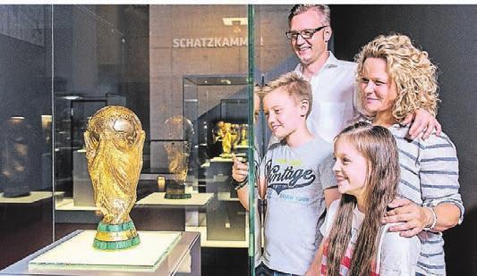 Das Museum ist ein beliebtes Ausflugsziel für Familien.