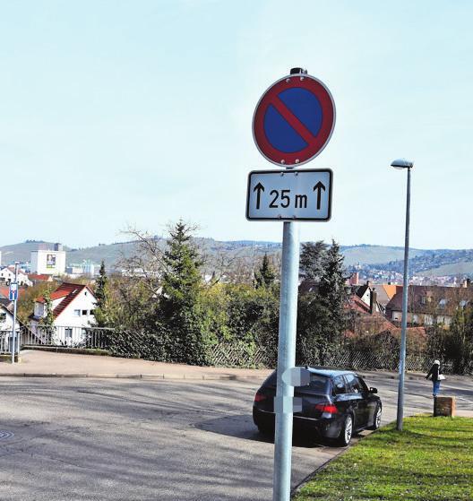 Das bereits bestehende Parkverbot soll nun noch einmal verlängert werden.