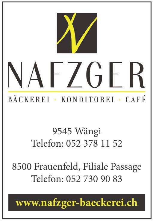Nafzger Bäckerei, Konditorei, Cafe
