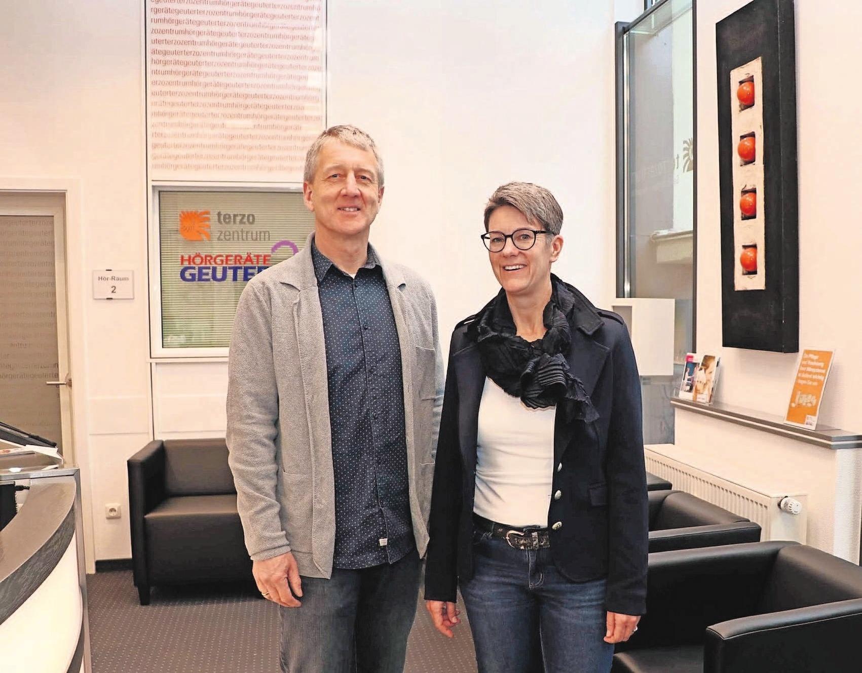 Die beiden Hauptorganisatoren Jessica Heß und Rainer Falch freuen sich auf viele Besucher.