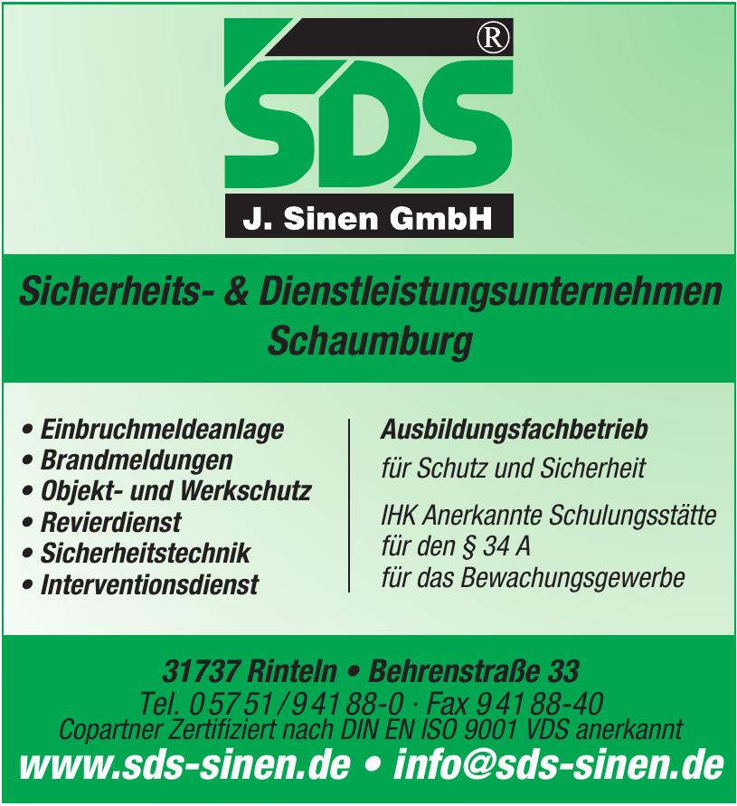 SDS - J. Sinen GmbH