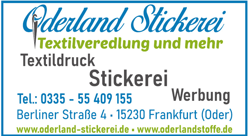 Oderland Stickerei
