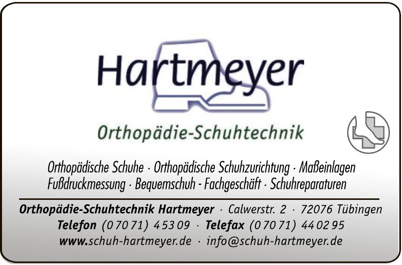 Orthopädie-Schuhtechnik Hartmeyer