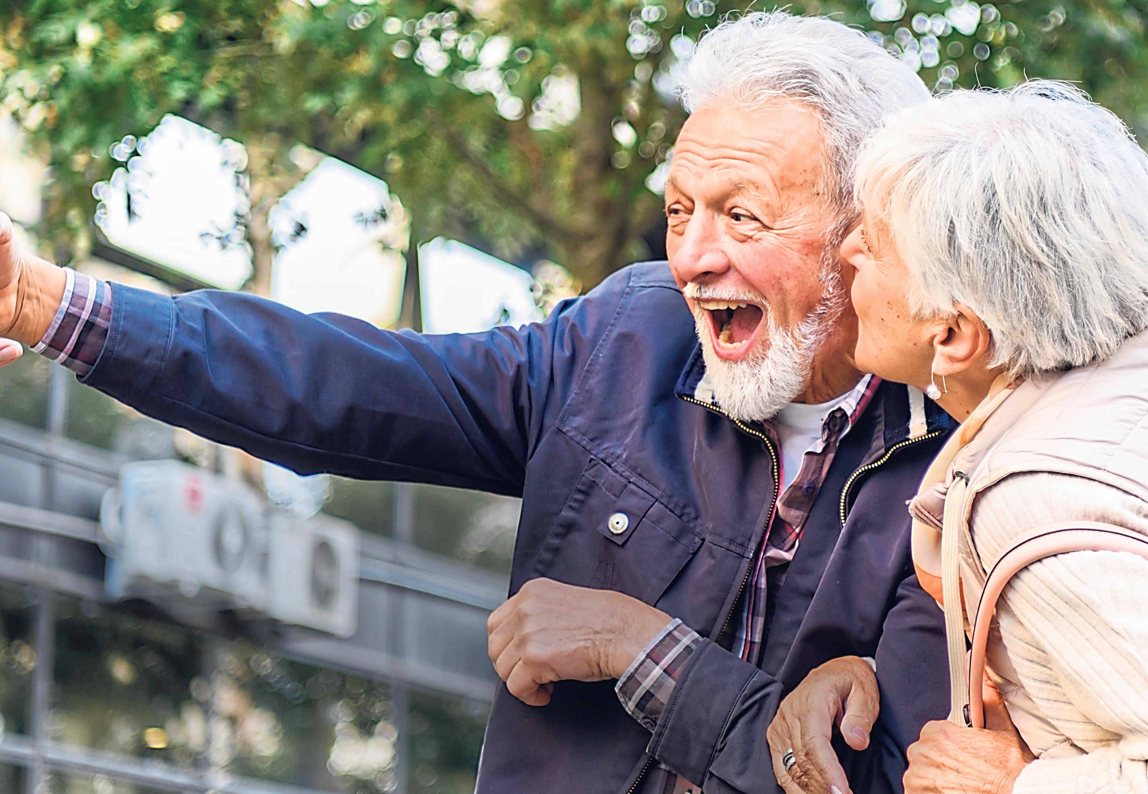Gut versorgt im Alter