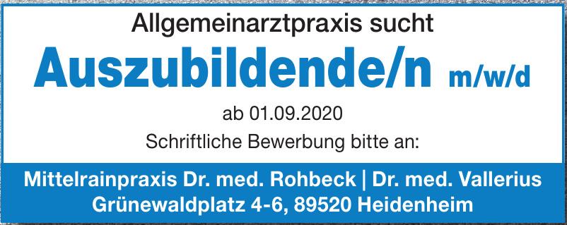 Mittelrainpraxis Dr. med. Rohbeck, Dr. med. Vallerius