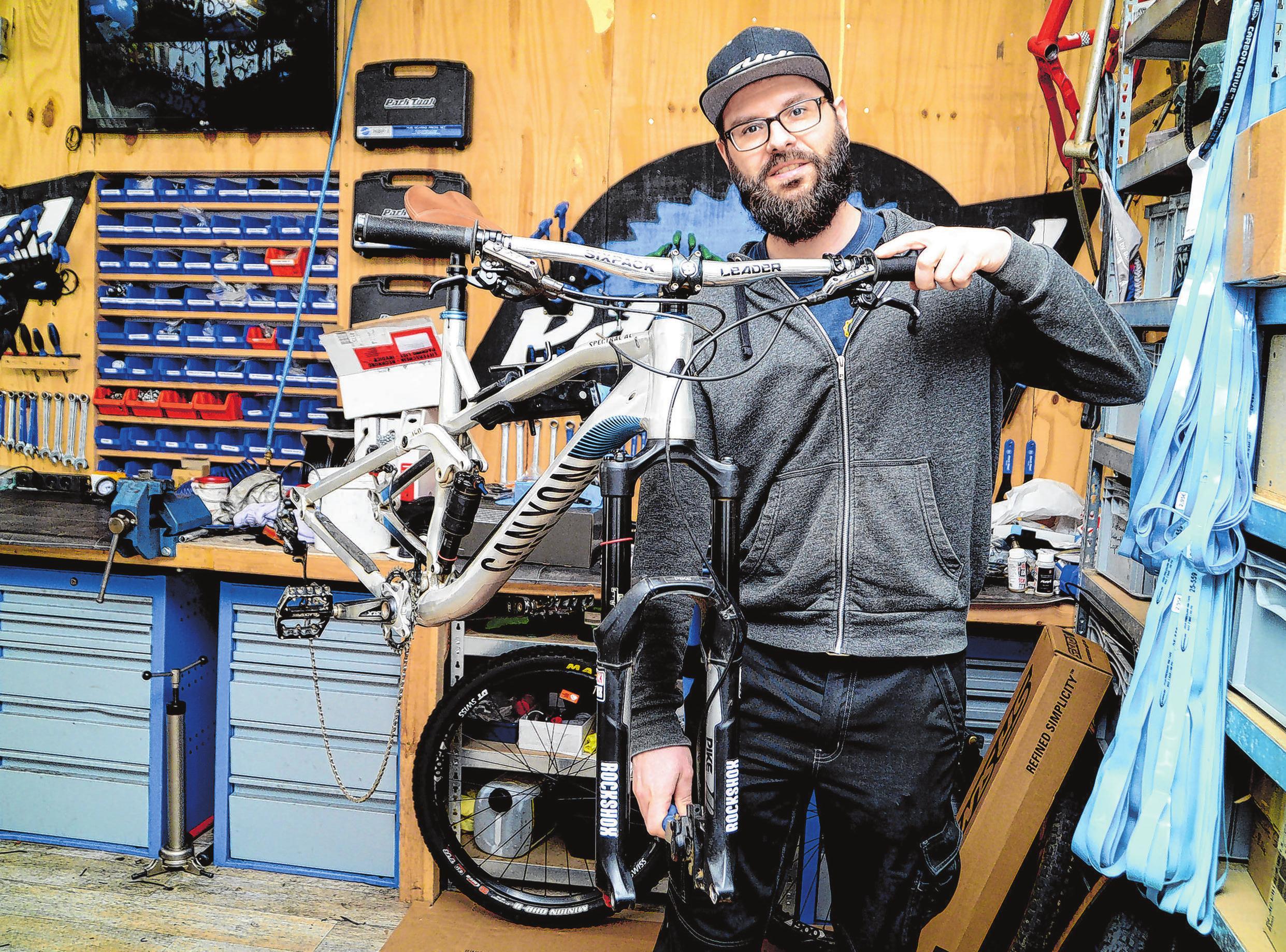 """Blick in die Werkstatt: Bei """"bikes4ever"""" in Fürstenwalde findet jeder sein Traum-Rad durch individuelle Beratung. Bleiben Sie fit durch Bewegung!"""