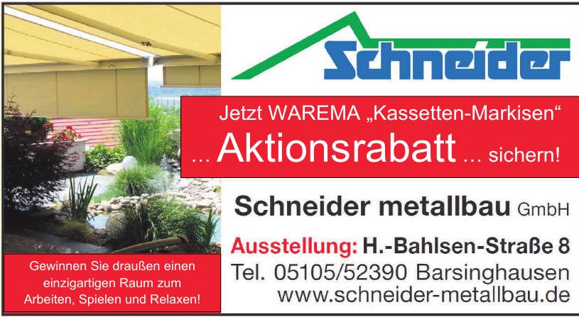 Schneider metallbau GmbH