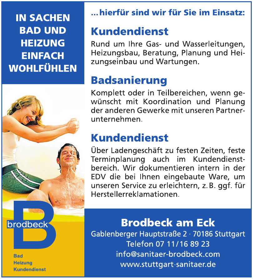 Brodbeck am Eck