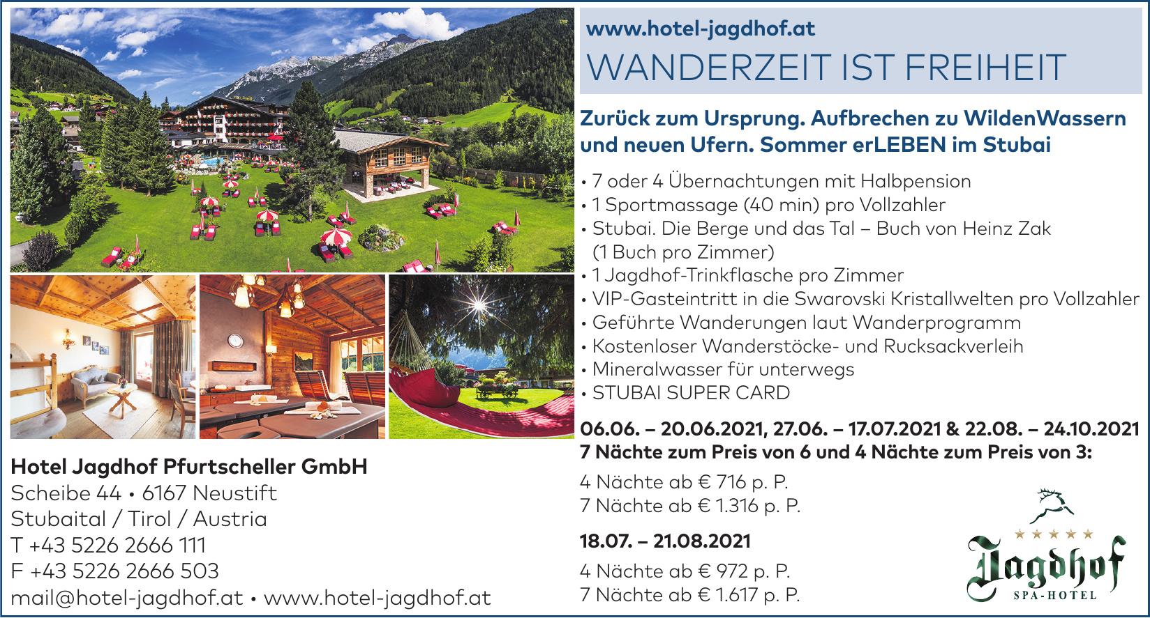 Hotel Jagdhof Pfurtscheller GmbH