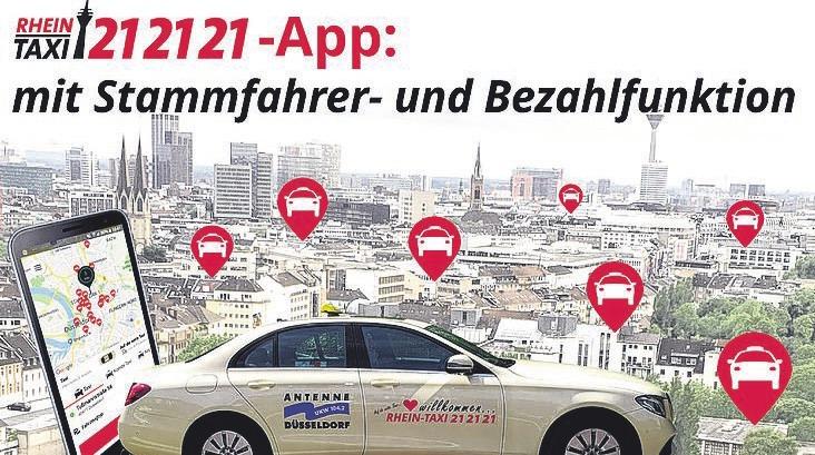 """Die Stammfahrer-Funktion der """"Rhein-Taxi""""-App ist ganz einfach zu bedienen."""