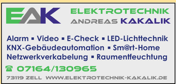 EAK Elektrotechnik Andreas Kakalik