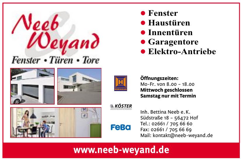 Neeb Weyand - Inh. Bettina Neeb e.K.