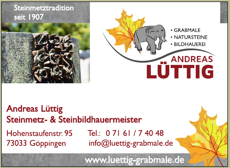 Andreas Lüttig Steinmetz- & Steinbildhauermeister