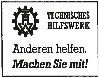 Technisches Hilfswerk