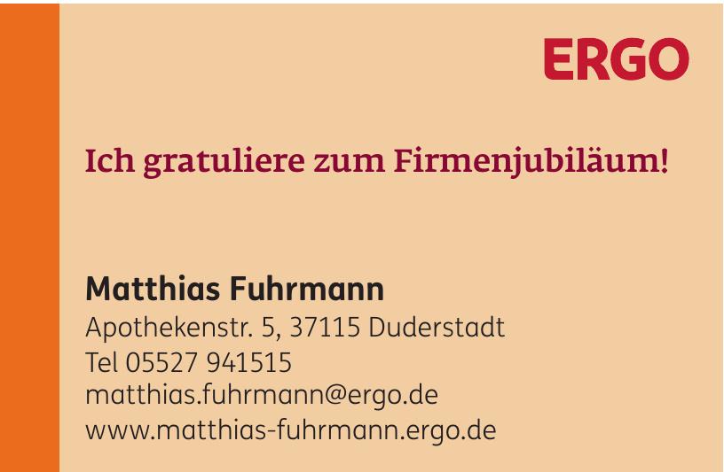 ERGO Matthias Fuhrmann