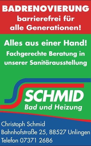 Schmid Bad und Heizung
