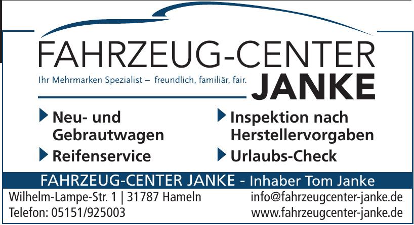Fahrzeug-Center Janke