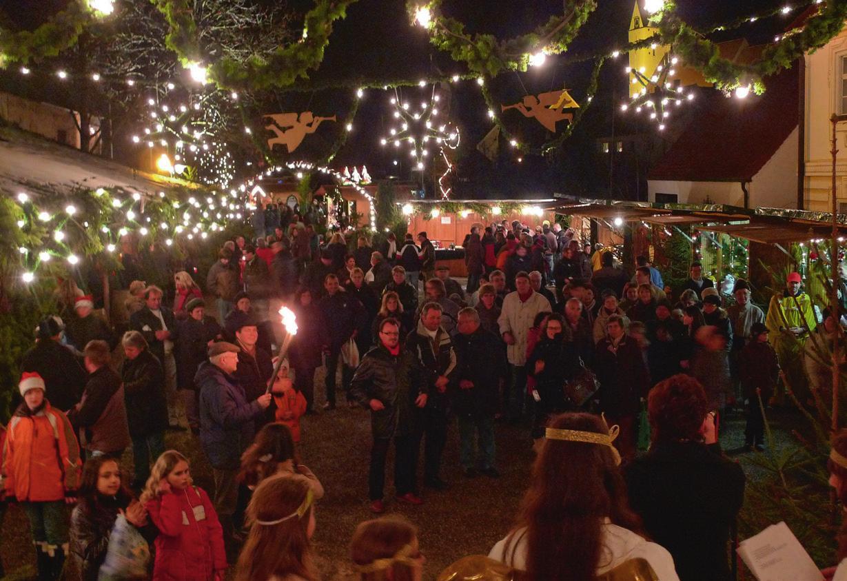 Weihnachtsmarkt Gundelfingen