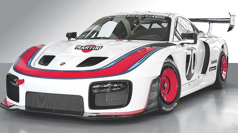 """Der Porsche 935 """"Moby Dick"""" Race Car bringt 700 PS auf die Rennpiste"""