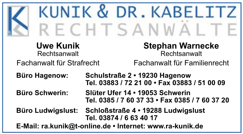 Kunik & Dr. Kabelitz Rechtsanwälte