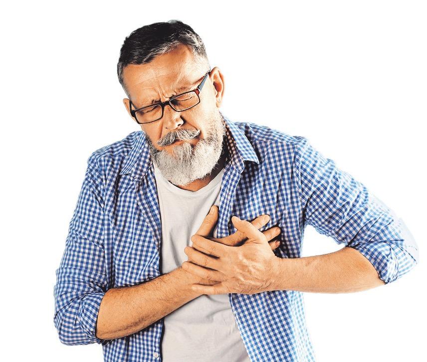 Eine chronische Herzschwäche ist eine große Belastung für die betroffenen Patienten.       FOTO: NEW AFRICA/FOTOLIA