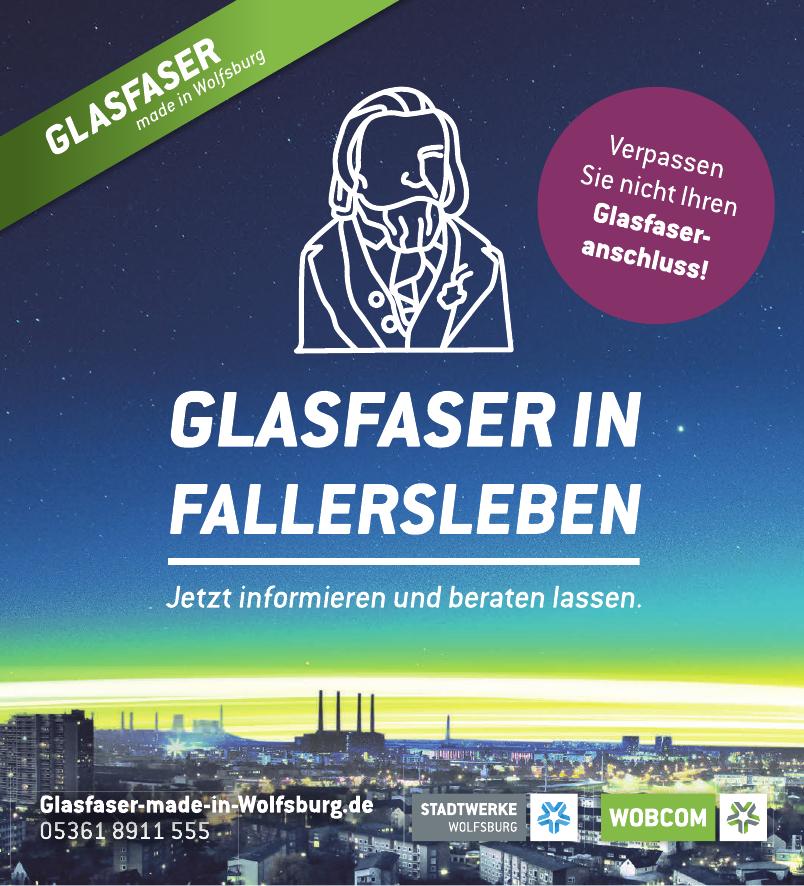 Glasfaser Fallersleben