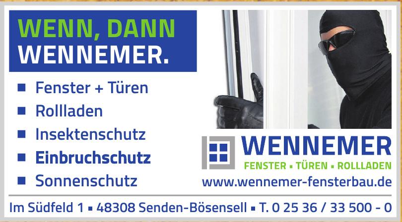 Wennemer Fensterbau GmbH & Co. KG