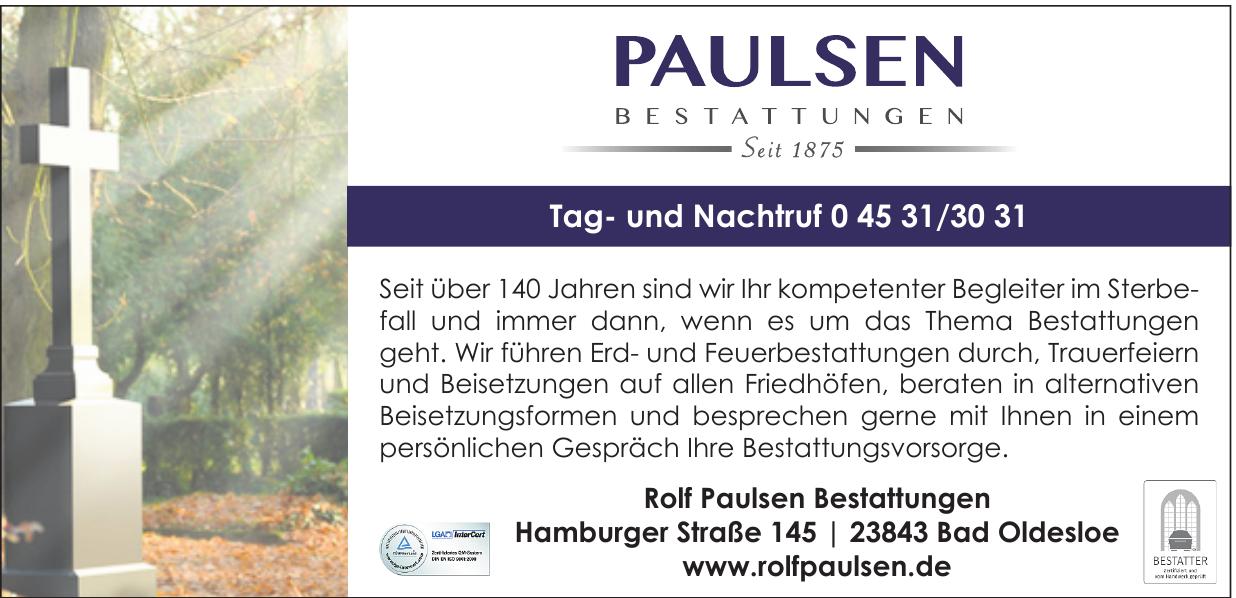 Rolf Paulsen Bestattungen